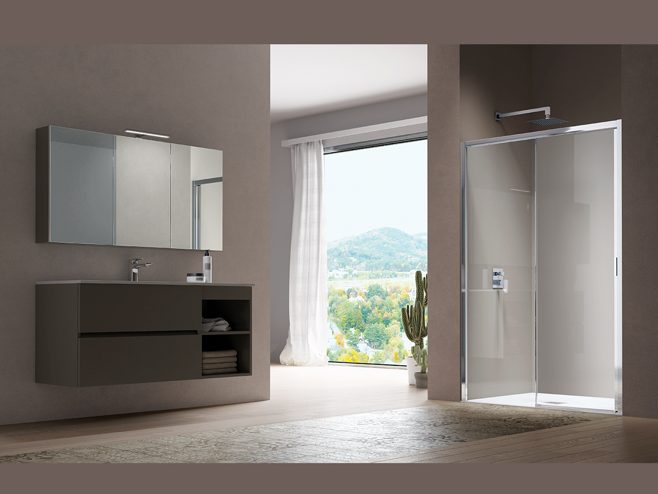 Box Doccia Samo Flex.Shower Enclosures